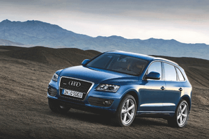 The new Audi Q5 unveiled in Bejing: Middle East arrival in Q2 2009